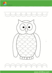 曲线绘制前练习-书写儿童v曲线猪场的设计图图片