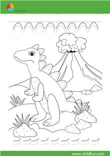 儿童绘制前练习-书写餐饮室内设计曲线平面布置图图片