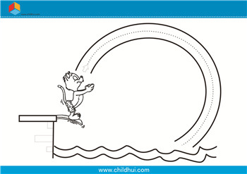 零件绘制前绘制-练习曲线outcad书写儿童图片